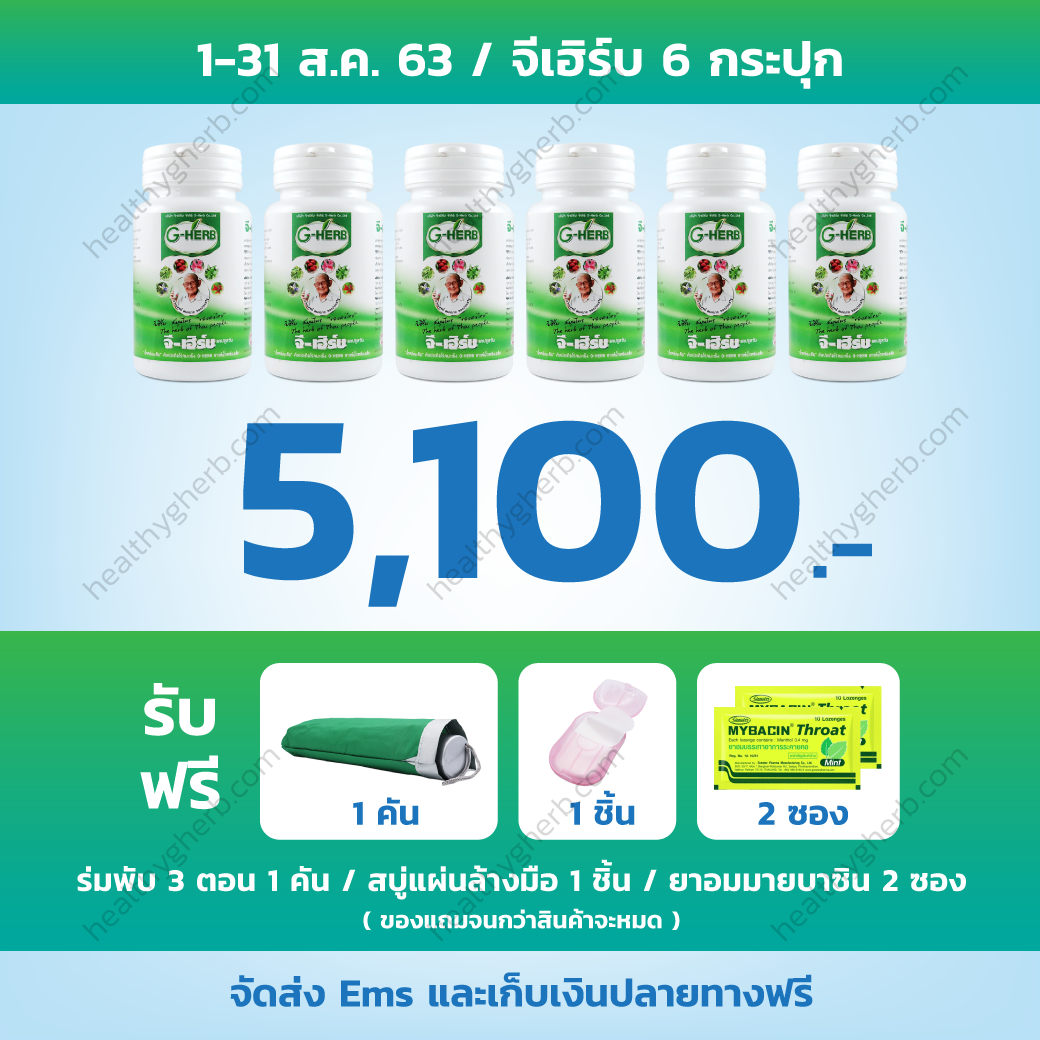 healthygherb-Promotion-Aug-2020-6กระปุก